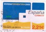 Stamps Spain -  periodicos de España-DIARIO DE IBIZA