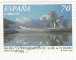 Sellos de Europa - España -  700 aniv.de la villa de bilbao