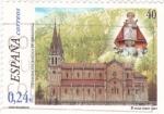 Stamps Spain -  basilica de covadonga