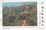 Sellos de Europa - España -  patrimonio mundial de la humanidad-las medulas-leon