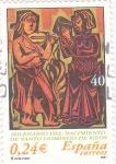 Sellos de Europa - España -  milenario del nacimiento de santo domingo de silos