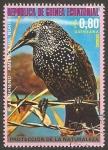 Sellos de Africa - Guinea Ecuatorial -  El estornino de America del Norte