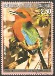 Stamps Africa - Equatorial Guinea -  El Momoto cabecirrojo de Australia