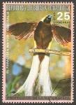 Stamps Equatorial Guinea -  El paradisea mayor de Australia