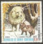Stamps Equatorial Guinea -  Zorro polar de Asia