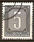 Sellos de Europa - Alemania -  Marca de servicio-DDR.