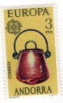 Stamps Andorra -  Serie Europa - 1976