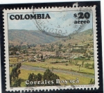 Stamps Colombia -  paisaje - 1982