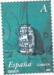 Stamps Spain -  ceramica-pinturas de Antonio Miguel gonzalez