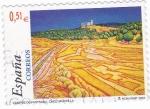 Stamps Spain -  pintura- paisajes