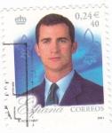 Sellos de Europa - España -  25 aniversario del reinado s.m.juan carlos I