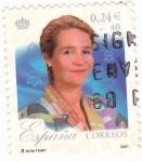 Stamps Spain -  25 aniversario del reinado s.m.juan carlos I