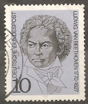Sellos del Mundo : Europa : Alemania : Ludwig van Beethoven. 1770-1827 (compositor)