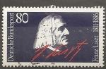 Sellos del Mundo : Europa : Alemania : Franz Liszt.  1811-1886 (compositor)