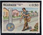 Stamps America - Nicaragua -  Congreso postal - 1981