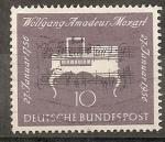 Sellos del Mundo : Europa : Alemania : Wolfgang Amadeus Mozart. 1756-1791 (compositor)