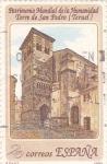 Stamps Spain -  patrimonio mundial de la humanidad-torre de san pedro-teruel