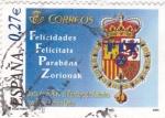 Sellos de Europa - España -  boda s.a.r. el principe de asturias con doña letizia ortiz
