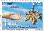 Sellos de Europa - España -  contra el cancer todos juntos