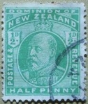 Stamps : Oceania : New_Zealand :  Edward VI.