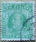 Sellos del Mundo : Oceania : Nueva_Zelanda : Edward VI.