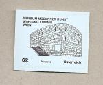 Stamps Austria -  Museo arte moderno