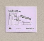 Stamps Austria -  Museo Essl de Closterneuburg