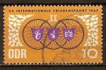 Sellos de Europa - Alemania -  XX. Carrera Internacional de la Paz 1967(DD).