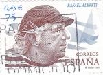 Stamps Spain -  Rafael Alberti