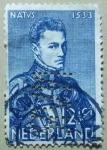 Stamps : Europe : Netherlands :  Retrato Atribuido a Moro.