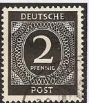 Sellos de Europa - Alemania -  Ocupación Americana, Inglesa y Soviética.