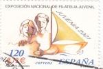 Stamps Spain -  juvenia-2001