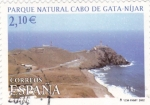 Sellos de Europa - España -  parque natural cabo de gata