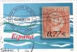 Sellos de Europa - España -  primera emision de sellosen filipinas