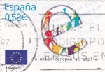 Stamps Spain -  la union europea se amplia