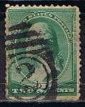 Stamps United States -  Scott  213 Washington (3)