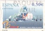 Sellos de Europa - España -  75 años volando IBERIA