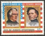 Sellos de Africa - Guinea Ecuatorial -  Millard Fillmore y Franklin Pierce