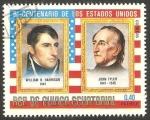 Stamps Equatorial Guinea -  William H. Harrison y John Tyler