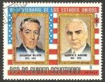 Stamps : Africa : Equatorial_Guinea :  Woodrow Wilson y Warren G. Harding