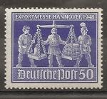 Sellos del Mundo : Europa : Alemania : Feria de Hannover