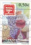 Sellos de Europa - España -  vinos con denominación de origen-RIOJA