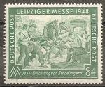 Sellos del Mundo : Europa : Alemania : Feria de Leipzig.