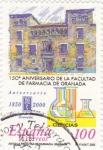 Sellos de Europa - España -  150 aniversario de la facultad de farmacia de granada