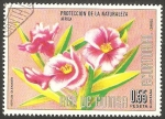 Stamps Equatorial Guinea -  flor nerium oleander
