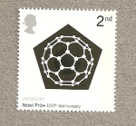 Sellos de Europa - Reino Unido -  Aniversario Premio Nobel