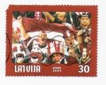 Stamps Europe - Latvia -