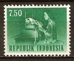 Sellos de Asia - Indonesia -  Teletypist.