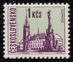 Stamps Czechoslovakia -  REPUBLICA CHECA - Columna de la Santísima Trinidad de Olomouc