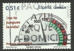 Stamps Spain -  Respeta la velocidad